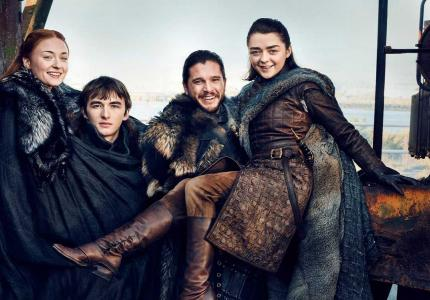game of thrones season 7 stark reunion