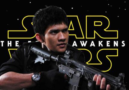 """Οι μαχητές  του """"The Raid"""" στο νέο """"Starwars"""""""