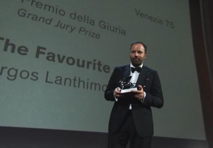 venice 18 film festival lanthimos award