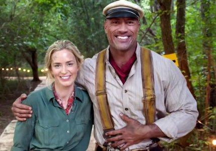 """Jungle Cruise"": Έμιλι Μπλαντ & The Rock ερωτεύονται στην ζούγκλα"
