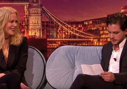 Kit Harington Penned a Love Poem to Nicole Kidman