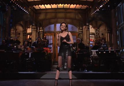 H Kristen Stewart τρολάρει τον Ντόναλντ Τραμπ στο Saturday Night Live