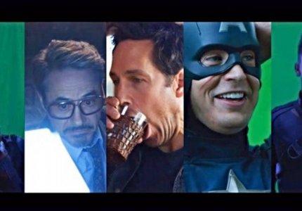 Avengers: Endgame. Δείτε τα ξεκαρδιστικά bloopers από τα γυρίσματα