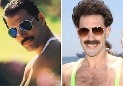 Aπό Borat σε Freddie Mercury!