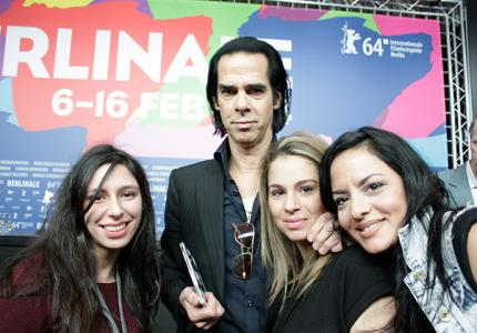 Berlinale 14: ΤΟ ΜΟVE IT σε απαρτία στην συνέντευξη τύπου του Nick Cave!
