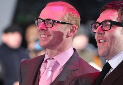 Σάιμον Πεγκ - Νικ Φροστ: Δύο ατόφιοι sci-fi comic nerds