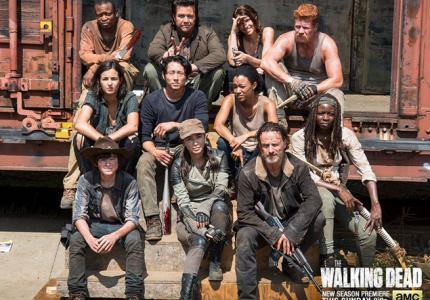 """Χαμός στην πρεμιέρα του """"Walking Dead 5""""!"""