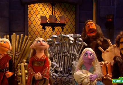 Winter is coming... in Sesame Street
