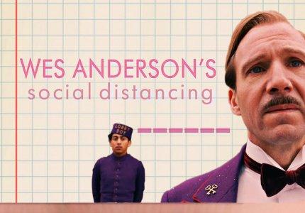 Το social distancing στις ταινίες του Ουές Άντερσον