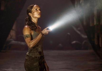 H Lara Croft ανακάλυψε... κορυφή