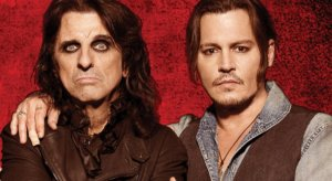 Alice Cooper Wants Johnny Depp to Play Him in a Biopic